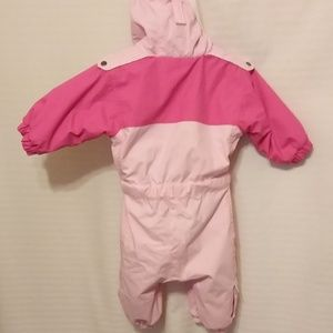 Columbia Jackets & Coats - PRETTY LITTLE COLUMBIA PINK SNOW SUIT